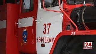 В Касево сгорел автомобиль