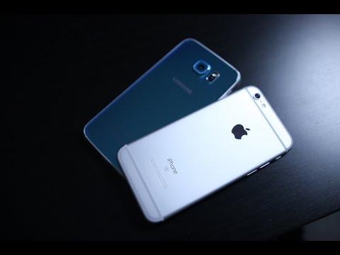 مقارنة بين اجهزة Samsung Galaxy S6 Vs Apple iPhone 6s