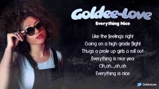 Popcaan - Everything Nice (Goldee-Love Cover)