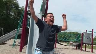 I am afraid of slides......no, I love slides!
