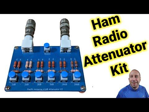 Ham Radio: Let's Build and Test the Pacific Antennas 41db Antenna Attenuator