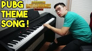 PUBG THEME SONG ON PIANO ! - PIANO COVER BY DEREN FIRDAUS