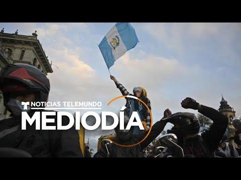 El Congreso de Guatemala retira el presupuesto para 2021 | Noticias Telemundo