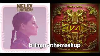 Nelly Furtado vs. Zedd & Kesha - True Colors Indestructible (Mashup)