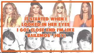 CNCO ft. Little Mix - Reggaeton Lento (Lyrics)