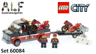 Lego City 60084 Racing Bike Transporter - Lego Speed Build Review