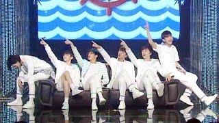 《EXCITING》 SEVENTEEN(세븐틴) - Pretty U(예쁘다) @인기가요 Inkigayo 20160508