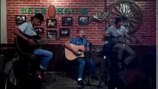 STA-PREST BOYS -  Heart Full Of Pride Acoustic (Perkele Cover) Live In Beer House 2014