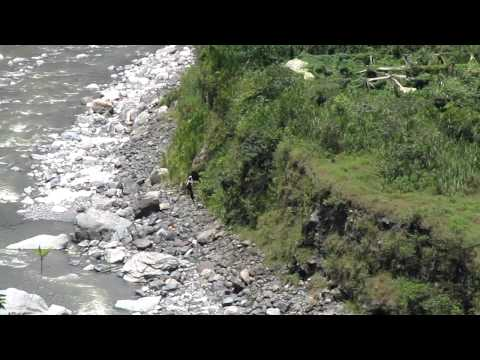 Ecuador, Banos, Canoping