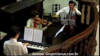 Ave Maria Bach/Gounod - Violino, Piano, Cello - Música de Casamento Entrada da Noiva na Igreja