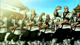 the best kung fu fighter in anime fight width=
