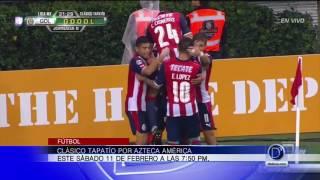 Clásico Tapatío será transmitido por Azteca América