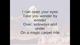 A Whole New World- Aladdin + Lyrics