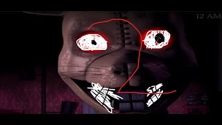 how to make Five nights at Candys 3 not scary part 2