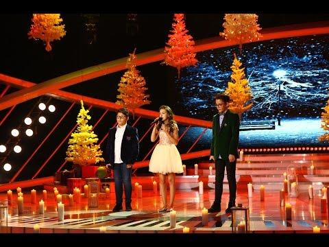 """Alex Pârvu, Elena Hasna și Horia Necșu cântă """"Silent Night"""", în ediția specială de Crăciun"""