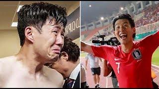 El desconsolado llanto de Heung-Min Son tuvo un final feliz
