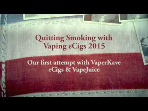 Quitting Smoking using Vaping eCigs 2015