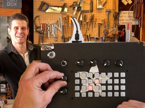 JOHN PARK'S WORKSHOP LIVE 4/19/18 DSP-G1 Trellis Synth @adafruit @johnedgarpark #adafruit