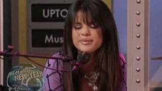 Selena Gomez singing in Wizards of Waverly Place [Make It Happen]