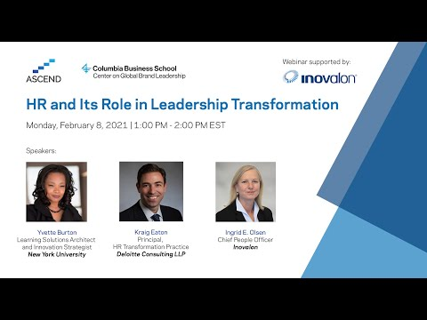 HR and Its Role in Leadership Transformation