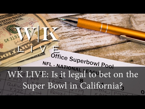 Is it legal to gamble on sports in California?