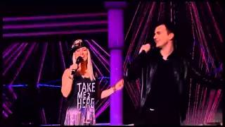 Milos Brkic i Aleksandra Bursac - Sto te nema ljubavi - HH - (TV Grand 22.12.2015.)