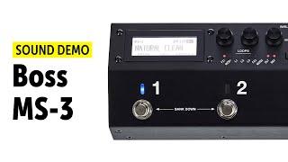 Boss MS-3 Sound Demo (no talking)