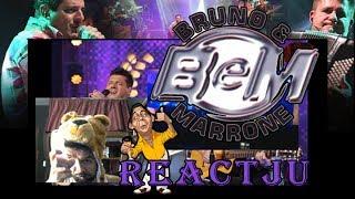 REACTJU - Bruno e Marrone.