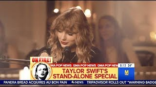 "GMA Teases Taylor Swift's Performance Of ""New Years Day"" (TGIT)"