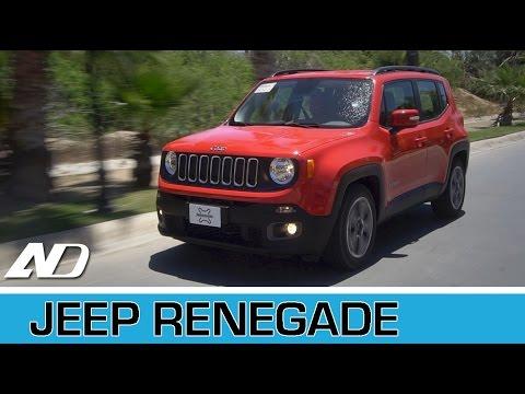 Jeep Renegade - Primer vistazo en AutoDinámico