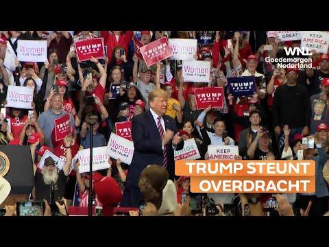 Trump steunt besluit tot machtsoverdracht aan regering-Biden