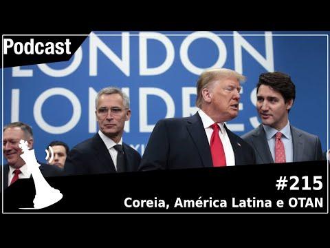 Xadrez Verbal Podcast #215 - Coreia, América Latina e OTAN