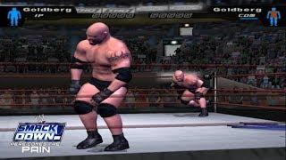 Goldberg vs. Goldberg | Glitch & Trick | WWE SD! HCTP 2003