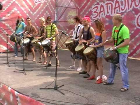trypilske kolo 2010 GODOPATA african drums and dance school 044