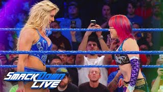 Take a closer look at the rivalry between Charlotte Flair & Asuka: SmackDown LIVE, March 27, 2018