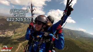 Paragliding Granada Sierra Nevada