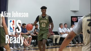 Alize Johnson Has NBA Scouts Attention Perfect Size & Speed for the NEW NBA