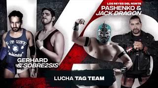 CNL Online #17 - Jack Dragon y Pashenko vs. Gerhard y Sobre2sis