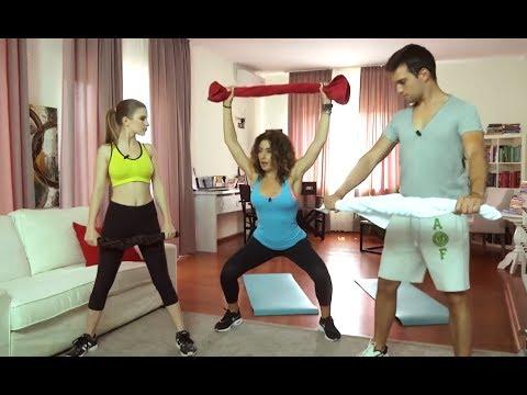 Fitness Exerciții pentru coapse și abdomen
