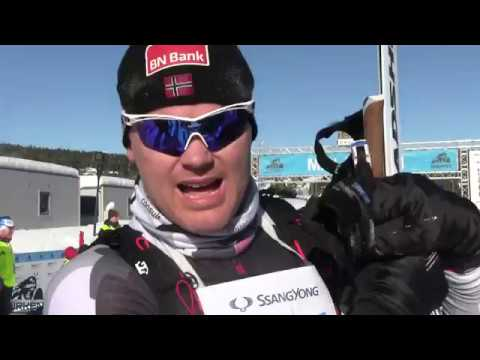 Birken skifestival 2018: John Arne Riise i mål