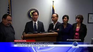 Denuncias sobre irregularidades en centros de detención de ICE