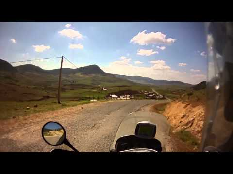 From Ouzoud to Fez passing  Beni Mellal ,Khénifra,Azrou, Morocco Challenge 2011.wmv
