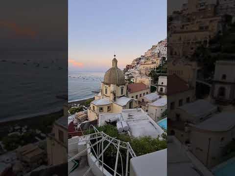The most beautiful view of Positano