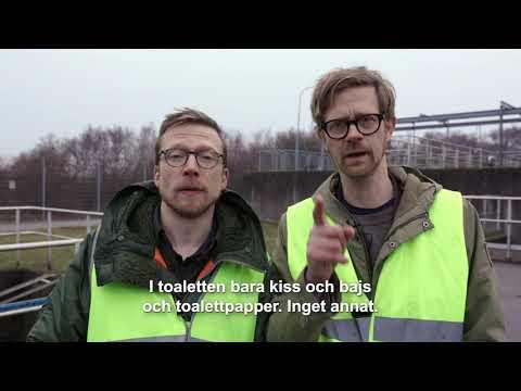 Så funkar VA SYD med Anders & Måns, kortversion 1 avloppsrening