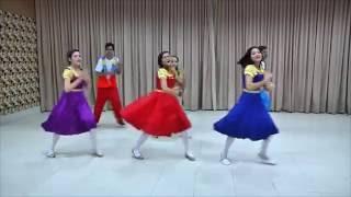 Trenzinho Chic Pom - Aline Barros (Coreografia)