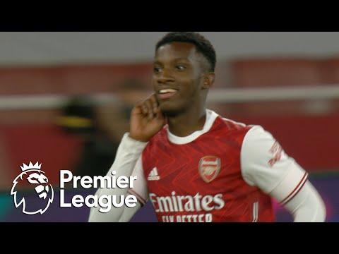 Eddie Nketiah scores late winner for Arsenal against West Ham | Premier League | NBC Sports