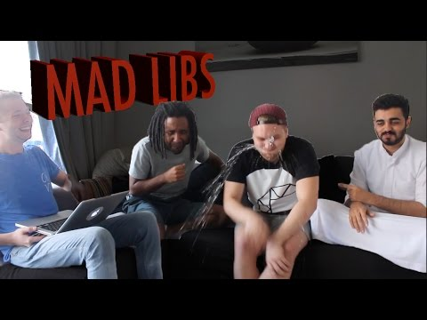 MAD LIBS CHALLENGE! with FROMTHE971