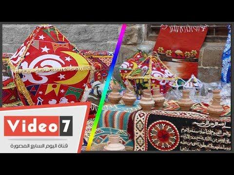 الصناعات اليدوية تتصدر مشهد احتفالية المعز لاستقبال شهر رمضان