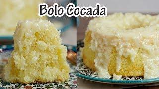 BOLO COCADA (receita fácil) I Receitas e Temperos