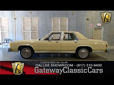 1987 Ford Crown Victoria LTD #494-DFW Gateway Classic Cars of Dallas
